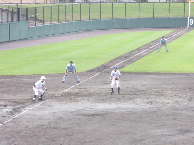 北信越高校野球石川県大会  航空vs泉丘 157