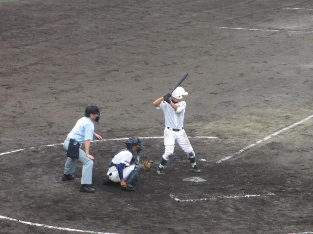 北信越高校野球石川県大会  航空vs泉丘 154
