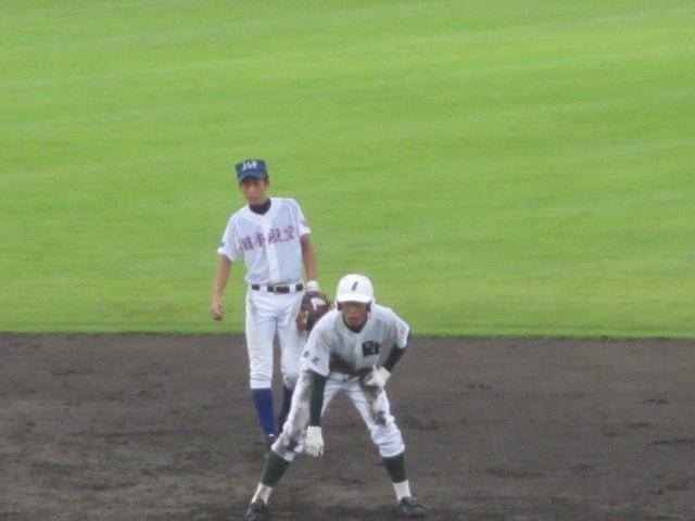 北信越高校野球石川県大会  航空vs泉丘 152