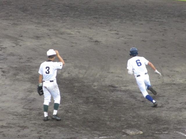 北信越高校野球石川県大会  航空vs泉丘 168