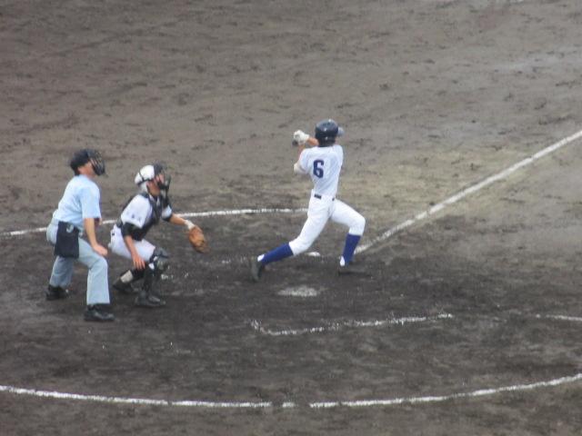北信越高校野球石川県大会  航空vs泉丘 167