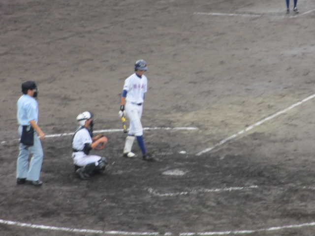 北信越高校野球石川県大会  航空vs泉丘 164