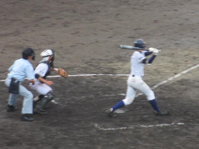 北信越高校野球石川県大会  航空vs泉丘 174