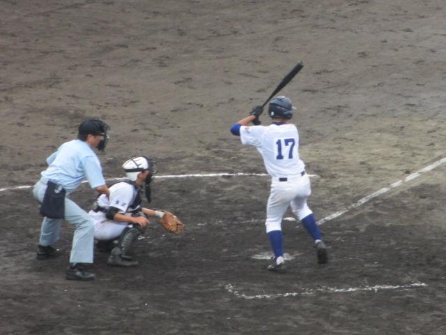 北信越高校野球石川県大会  航空vs泉丘 171