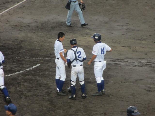 北信越高校野球石川県大会  航空vs泉丘 175
