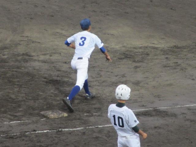 北信越高校野球石川県大会  航空vs泉丘 179