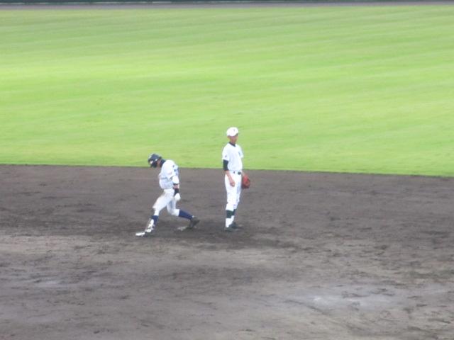 北信越高校野球石川県大会  航空vs泉丘 187