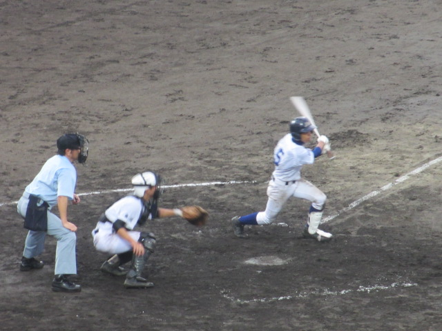 北信越高校野球石川県大会  航空vs泉丘 186