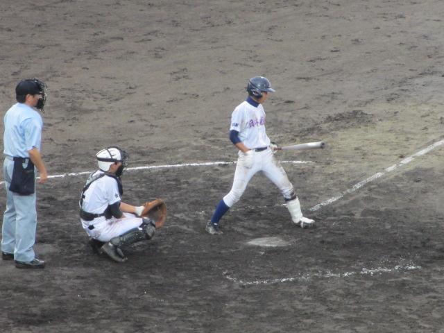 北信越高校野球石川県大会  航空vs泉丘 183
