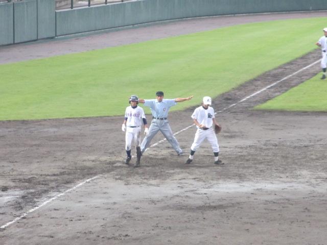 北信越高校野球石川県大会  航空vs泉丘 193