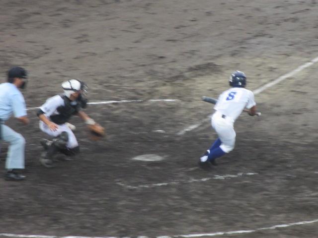 北信越高校野球石川県大会  航空vs泉丘 188