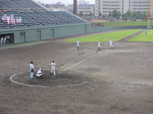 北信越高校野球石川県大会  航空vs泉丘 195