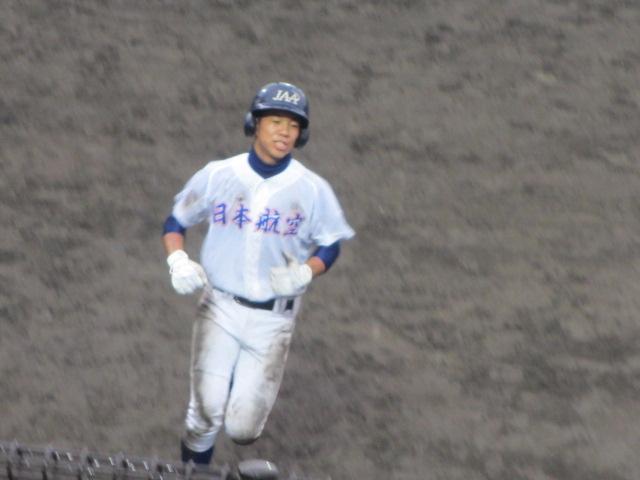 北信越高校野球石川県大会  航空vs泉丘 203