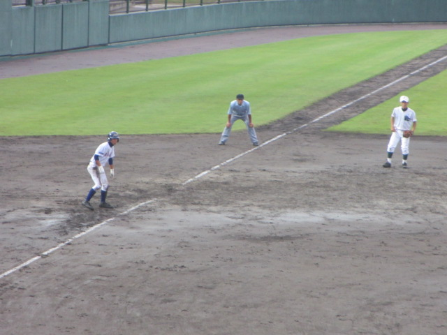 北信越高校野球石川県大会  航空vs泉丘 201