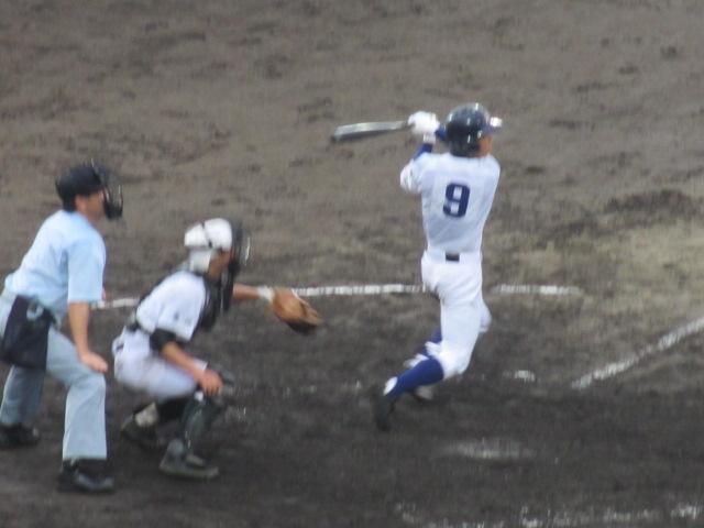 北信越高校野球石川県大会  航空vs泉丘 202