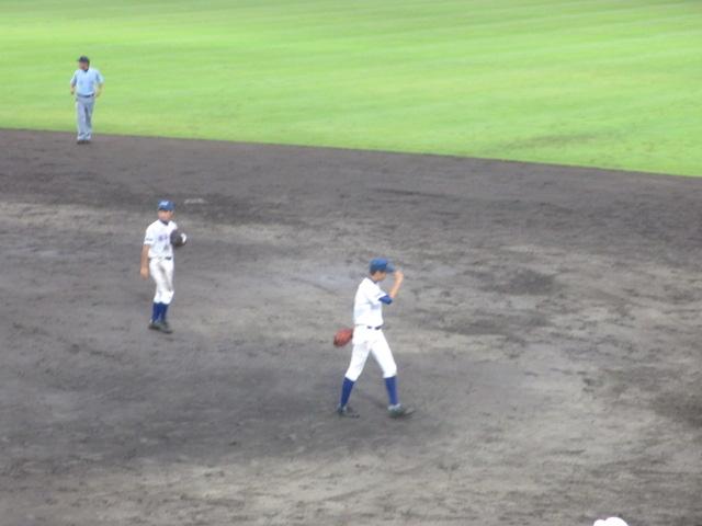 北信越高校野球石川県大会  航空vs泉丘 211