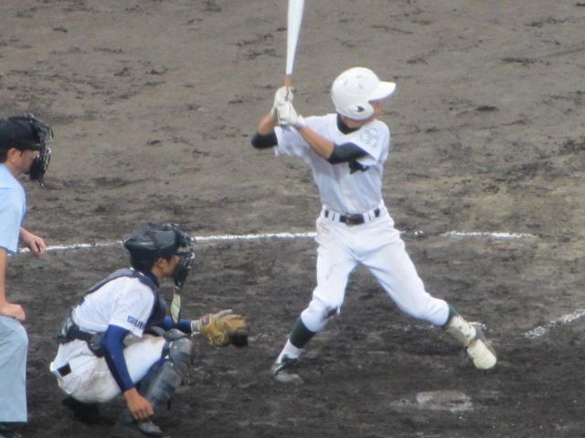 北信越高校野球石川県大会  航空vs泉丘 210