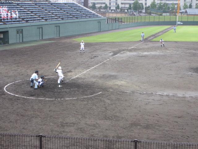 北信越高校野球石川県大会  航空vs泉丘 208
