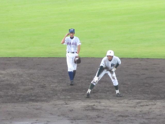 北信越高校野球石川県大会  航空vs泉丘 209