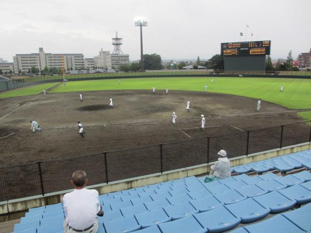 北信越高校野球石川県大会  航空vs泉丘 207
