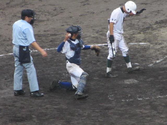 北信越高校野球石川県大会  航空vs泉丘 217