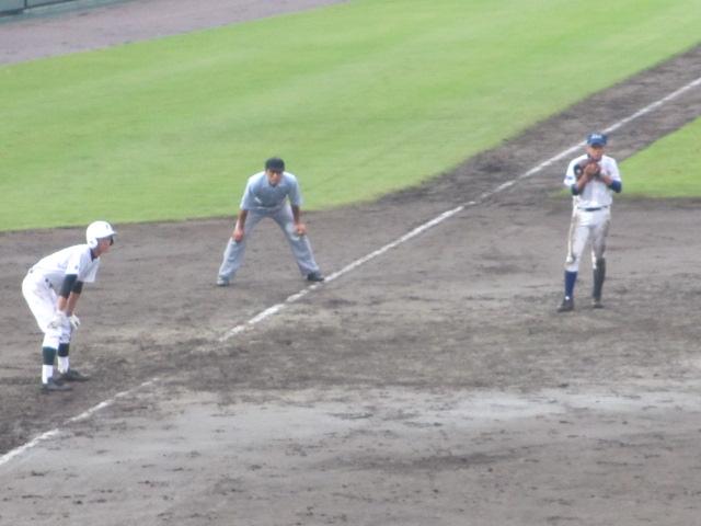 北信越高校野球石川県大会  航空vs泉丘 216