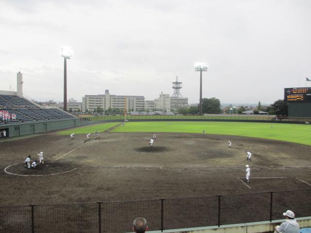 北信越高校野球石川県大会  航空vs泉丘 215
