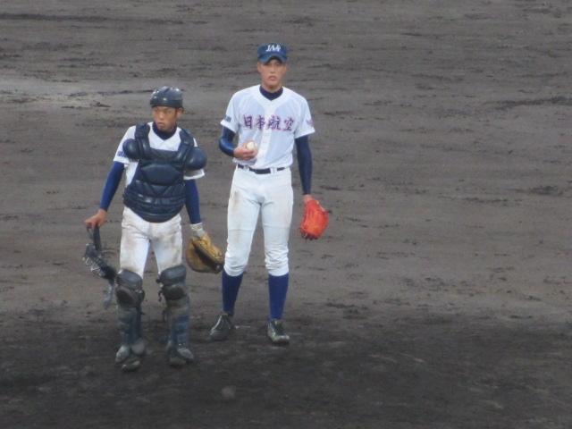 北信越高校野球石川県大会  航空vs泉丘 212