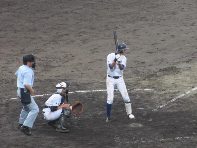 北信越高校野球石川県大会  航空vs泉丘 222