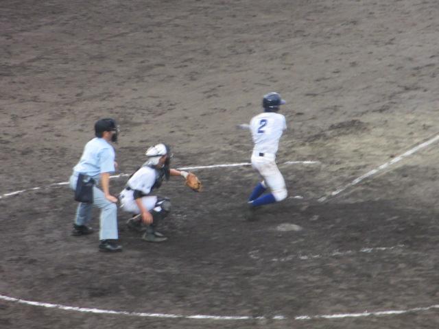 北信越高校野球石川県大会  航空vs泉丘 221