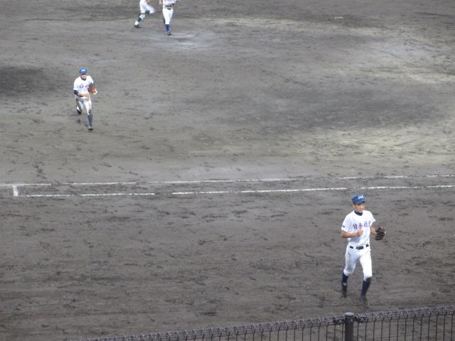 北信越高校野球石川県大会  航空vs泉丘 219