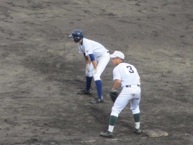 北信越高校野球石川県大会  航空vs泉丘 227
