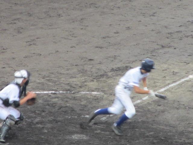 北信越高校野球石川県大会  航空vs泉丘 228