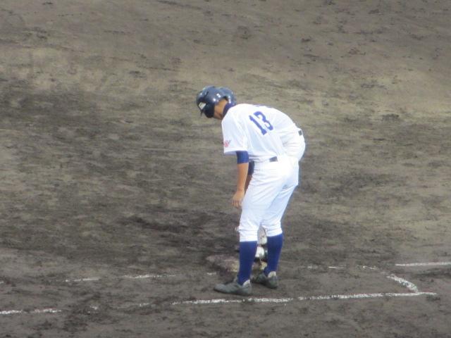 北信越高校野球石川県大会  航空vs泉丘 226