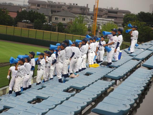 北信越高校野球石川県大会  航空vs泉丘 224