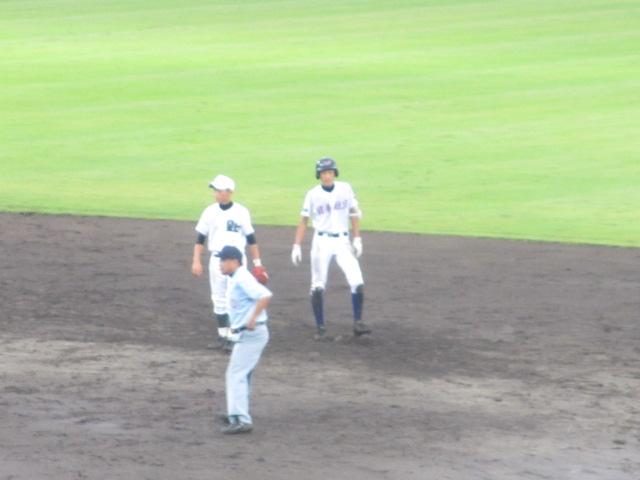 北信越高校野球石川県大会  航空vs泉丘 234