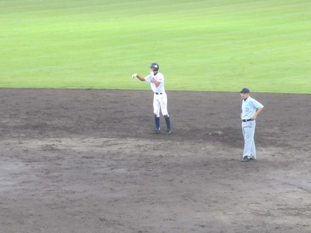 北信越高校野球石川県大会  航空vs泉丘 235