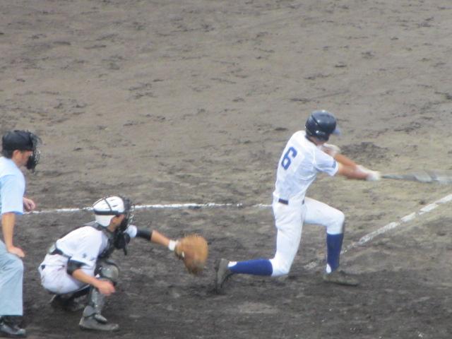 北信越高校野球石川県大会  航空vs泉丘 232