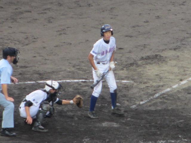 北信越高校野球石川県大会  航空vs泉丘 231