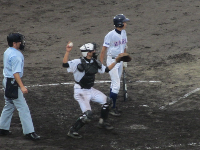 北信越高校野球石川県大会  航空vs泉丘 230