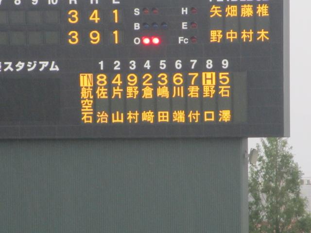 北信越高校野球石川県大会  航空vs泉丘 241