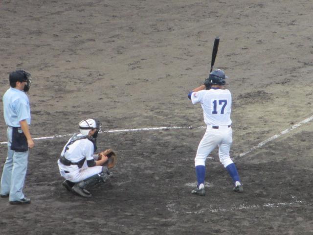 北信越高校野球石川県大会  航空vs泉丘 237