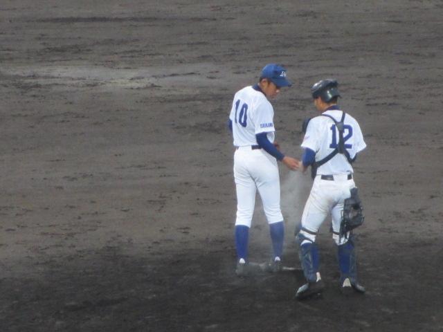 北信越高校野球石川県大会  航空vs泉丘 245