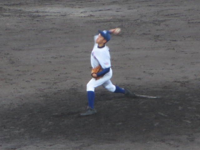 北信越高校野球石川県大会  航空vs泉丘 246