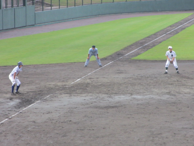 北信越高校野球石川県大会  航空vs泉丘 242