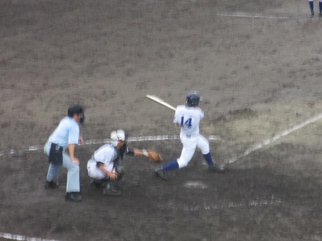 北信越高校野球石川県大会  航空vs泉丘 243