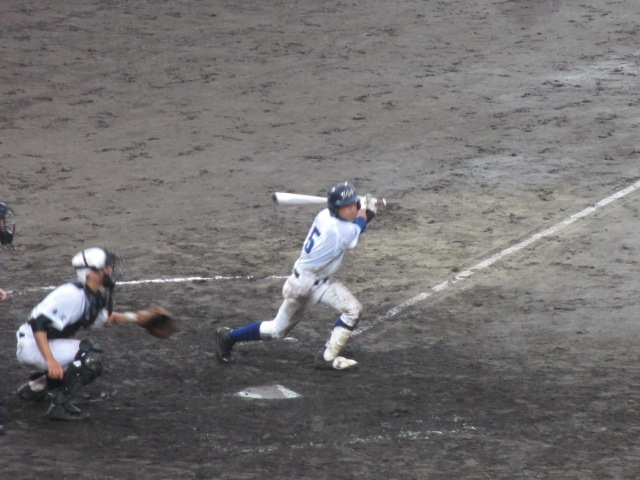 北信越高校野球石川県大会  航空vs泉丘 253