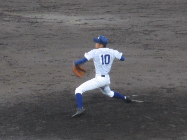 北信越高校野球石川県大会  航空vs泉丘 250
