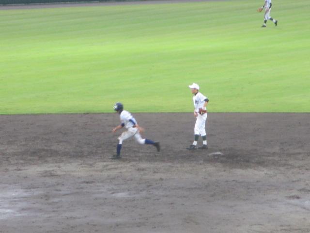 北信越高校野球石川県大会  航空vs泉丘 259