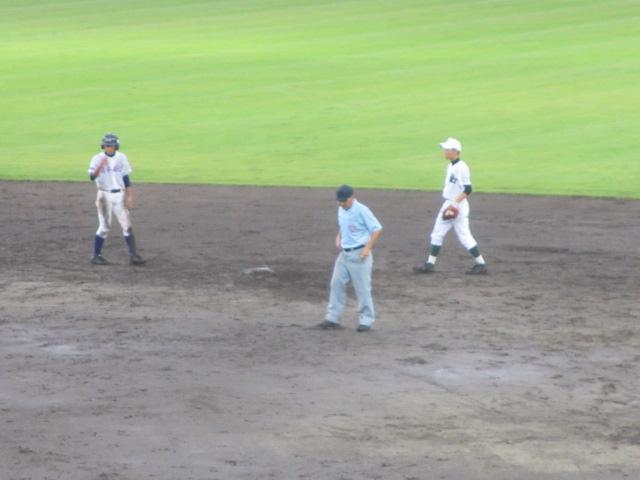 北信越高校野球石川県大会  航空vs泉丘 258